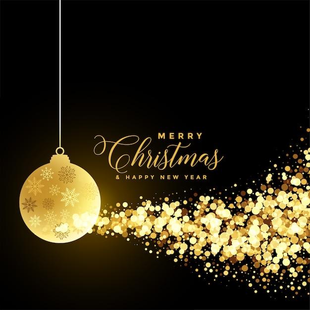 Kerstfestival groet Gratis Vector