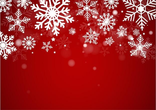 Kerstmis en new years blur bokeh van licht op achtergrond Premium Vector