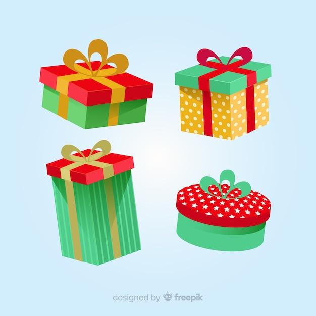 Kerstpakket Vector Gratis Download