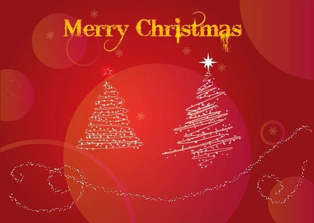 Kerstwensen Vector Gratis Download