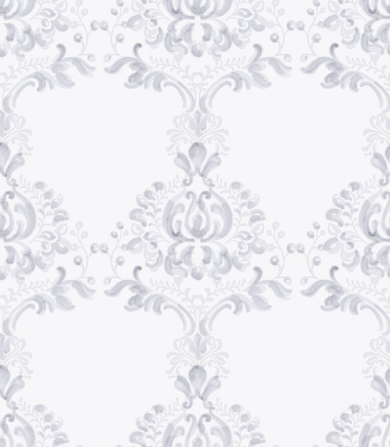 Klassieke elegante sieraadpatroon aquarel. lavendel delicate kleurstructuren Premium Vector