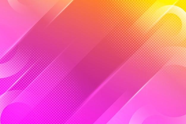 Kleurovergang abstracte halftoon achtergrond Gratis Vector
