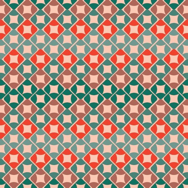 Kleurrijk geometrisch patroon Gratis Vector