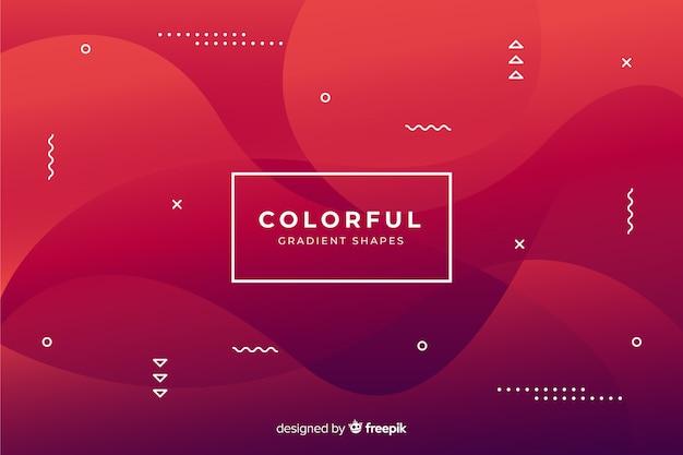 Kleurrijke achtergrond Gratis Vector