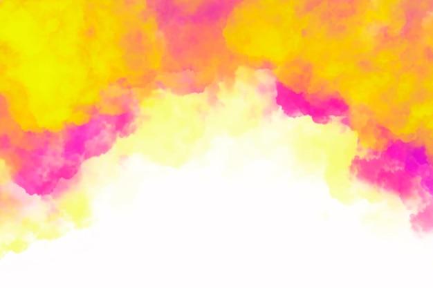 Kleurrijke aquarel achtergrond Gratis Vector