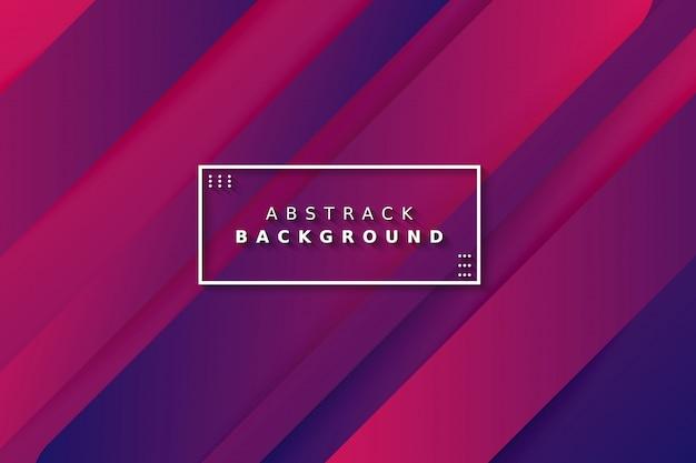 Kleurrijke gradiënt geometrische abstracte achtergrond Premium Vector