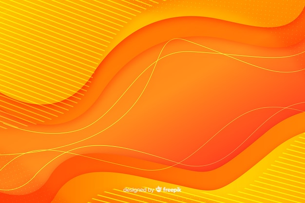 Kleurrijke gradiënt vloeibare vormen achtergrond Gratis Vector