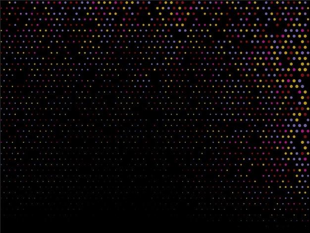 Kleurrijke halftone ontwerp decoratieve achtergrond Gratis Vector
