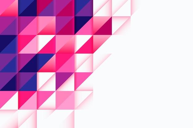 Kleurrijke overlappende vormenachtergrond Gratis Vector