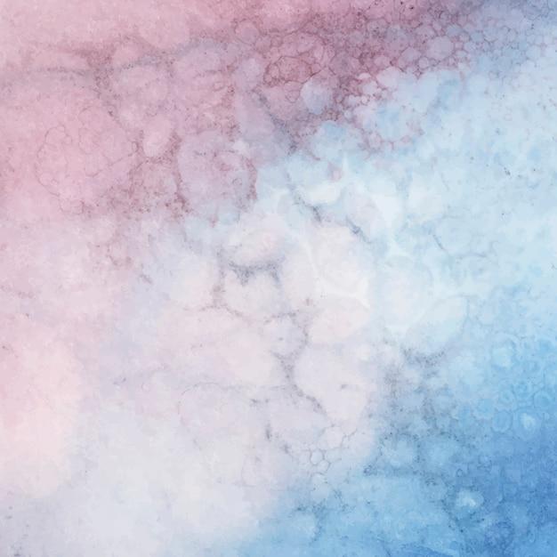 Kleurrijke waterverf abstracte vector als achtergrond Gratis Vector