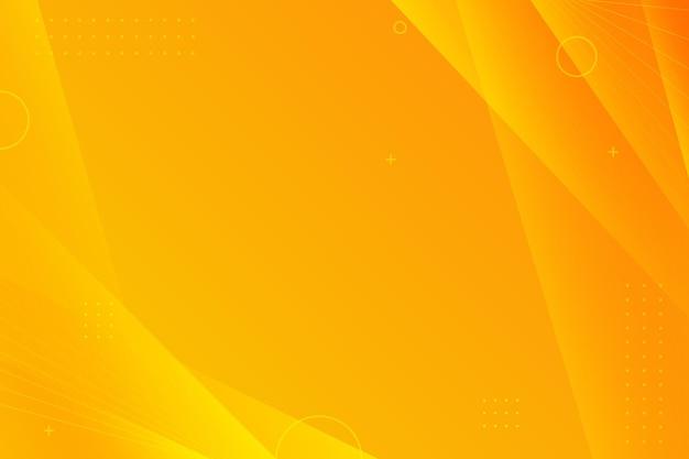 Kopieer ruimte gradiënt gele achtergrond Gratis Vector