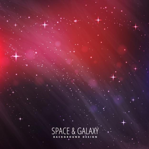 Kosmos achtergrond Gratis Vector