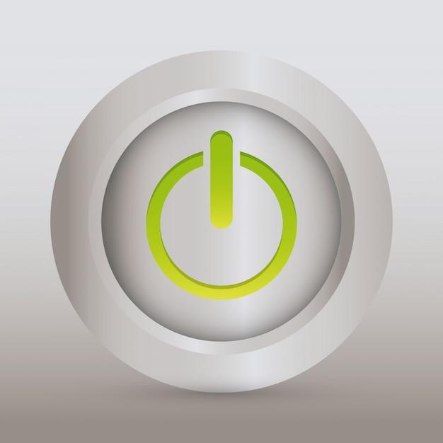Kracht ontwerp. illuistration Premium Vector
