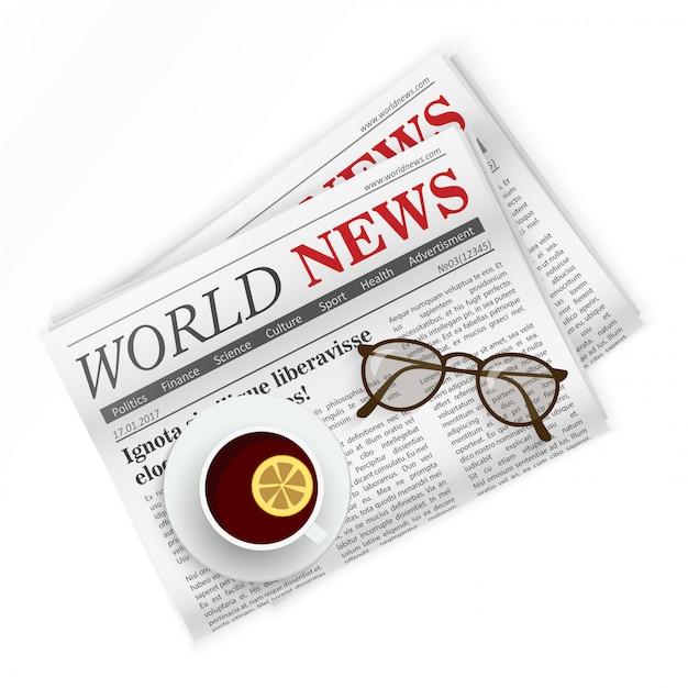 Krant Premium Vector