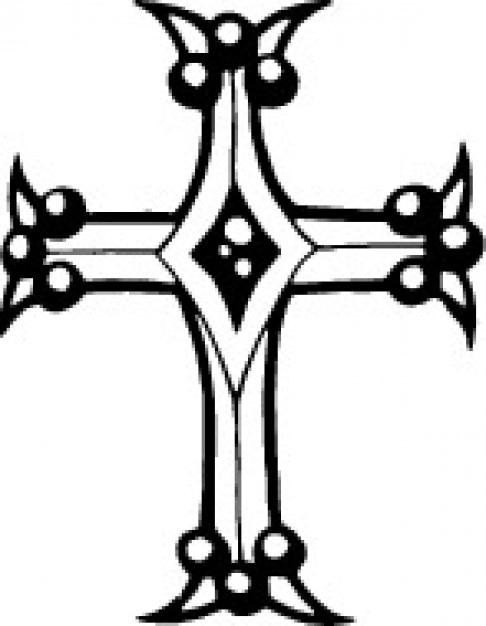 Kruisvorm Gratis Vector