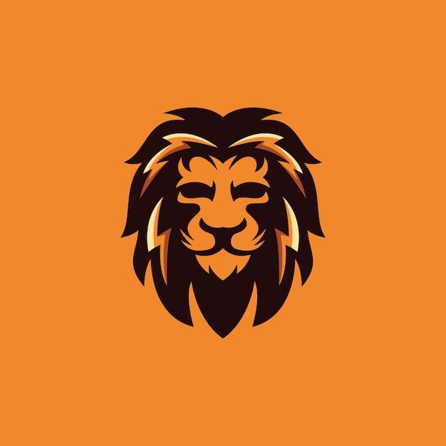 Leeuw logo ontwerp collectie Premium Vector