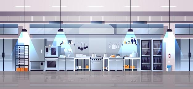 Lege keuken in moderne café interieur Premium Vector