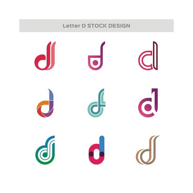 Letter e stock design-logo Premium Vector