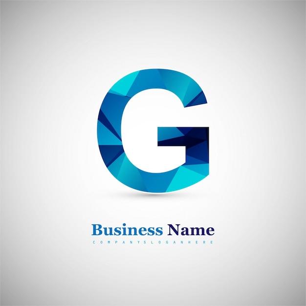 Letter g ontwerp Gratis Vector