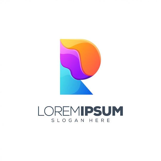 Letter r-logo Premium Vector