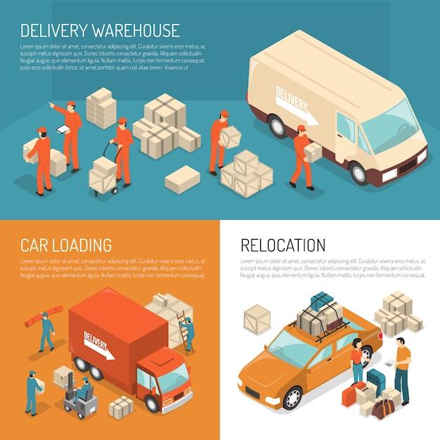Levering moving design concept Gratis Vector