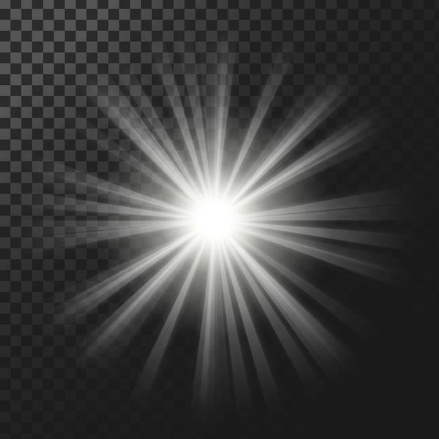 Licht effecten achtergrond Gratis Vector