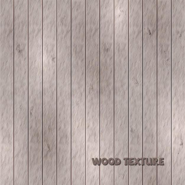 Lichtbruine houtstructuur, vintage achtergrond. vector illustratio Premium Vector