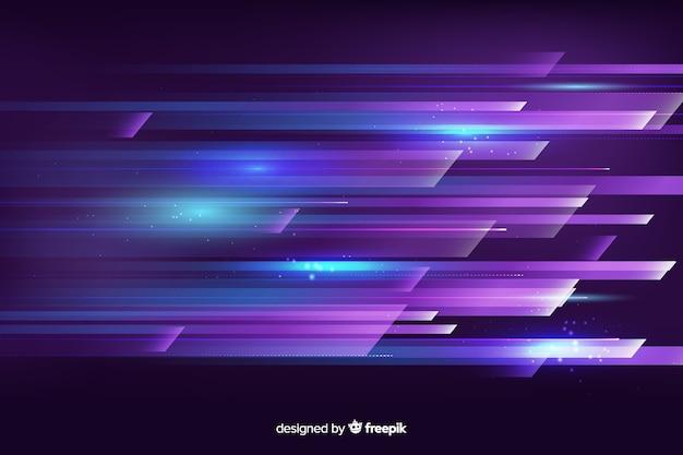 Lichte beweging achtergrond smeren Gratis Vector