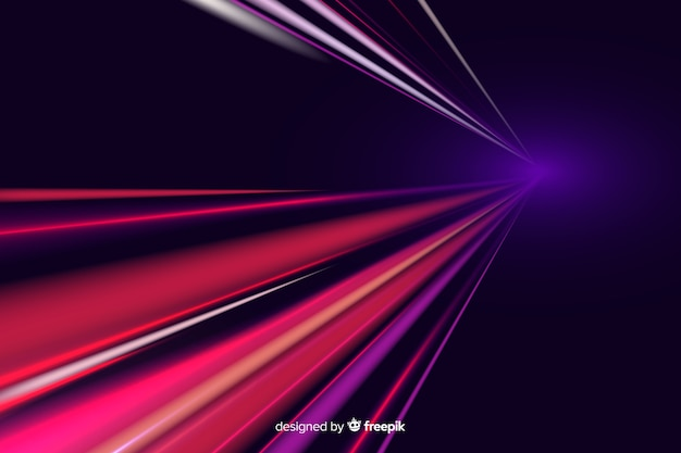 Lichte spoorachtergrond Gratis Vector