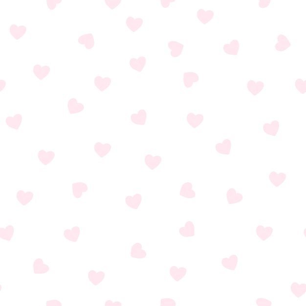 Lichtroze hartpatroon Gratis Vector
