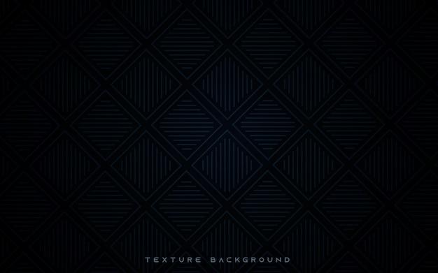 Lijn textuur op zwarte achtergrond Premium Vector