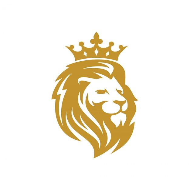 Lion logo vector template Premium Vector