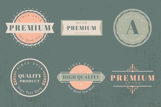 Logo ontwerpsjablonen Gratis Vector