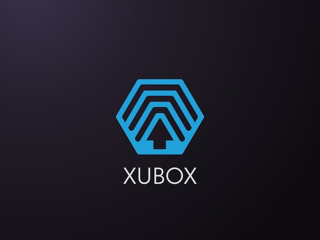 Logo transportservice Premium Vector