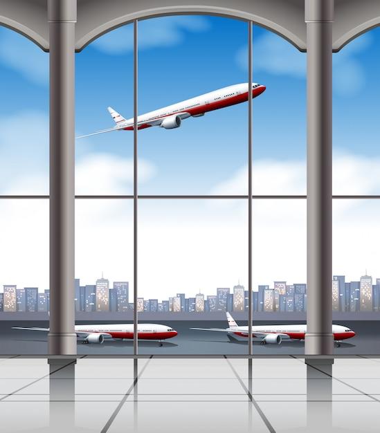 Luchthaven Gratis Vector