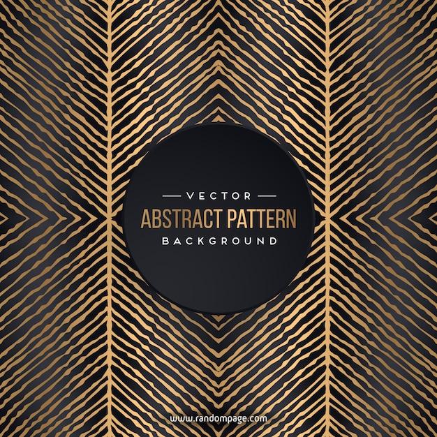 Luxe abstract patroon Premium Vector