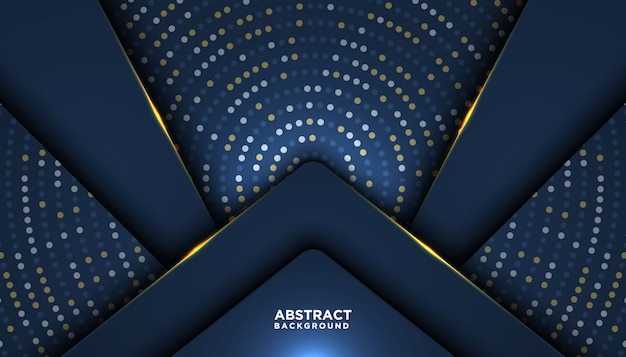 Luxe abstracte achtergrond Premium Vector
