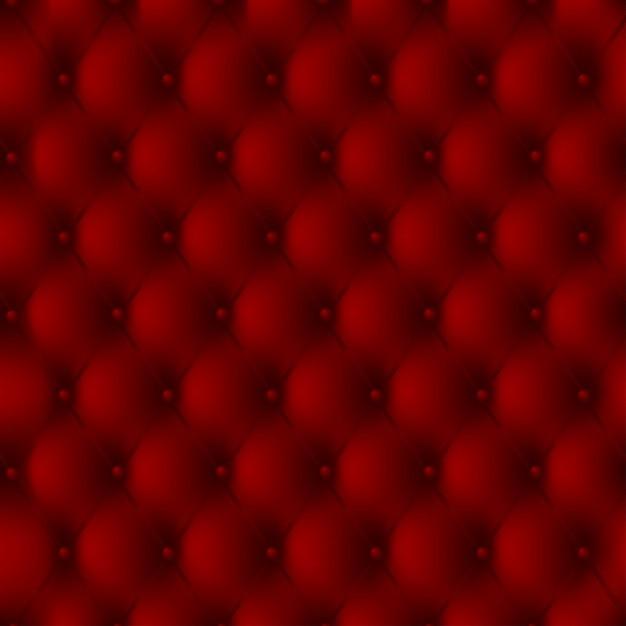 Luxe achtergrond van een rood lederen bekleding met knoppen vector gratis download - Lederen bekleding ...