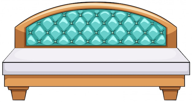 Luxe bed Gratis Vector