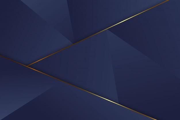 Luxe driehoek achtergrond Premium Vector