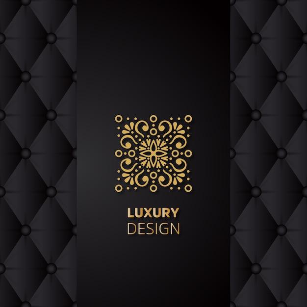 Luxe mandala ontwerp Gratis Vector