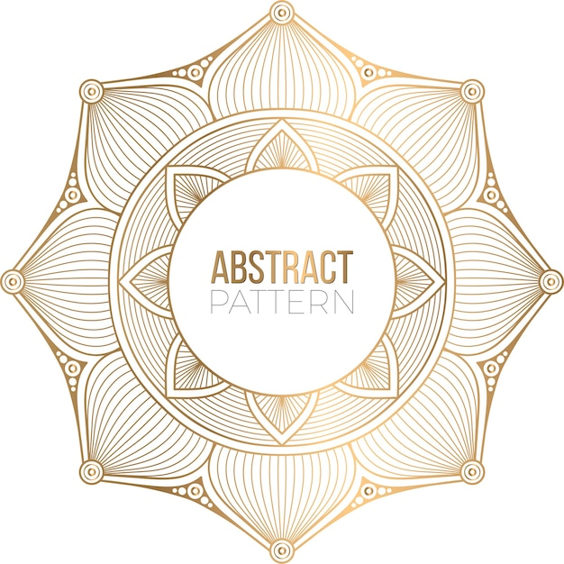Luxe sier mandala ontwerp achtergrond Gratis Vector