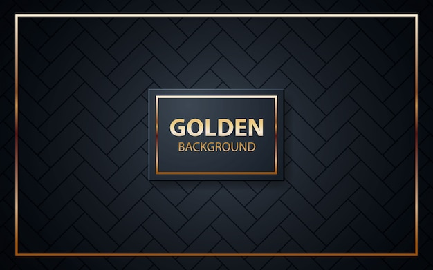 Luxe zwarte achtergrond textuur Premium Vector