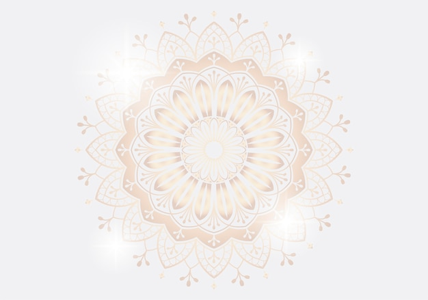 Mandala illustratie Gratis Vector