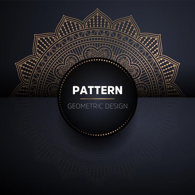 Mandala naadloze patroon. vintage decoratieve elementen patroon Gratis Vector