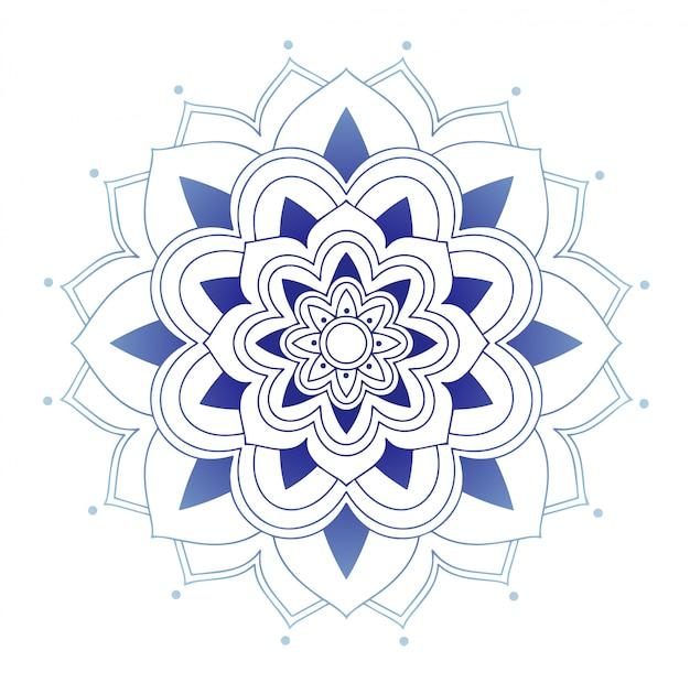 Mandala ontwerp Gratis Vector