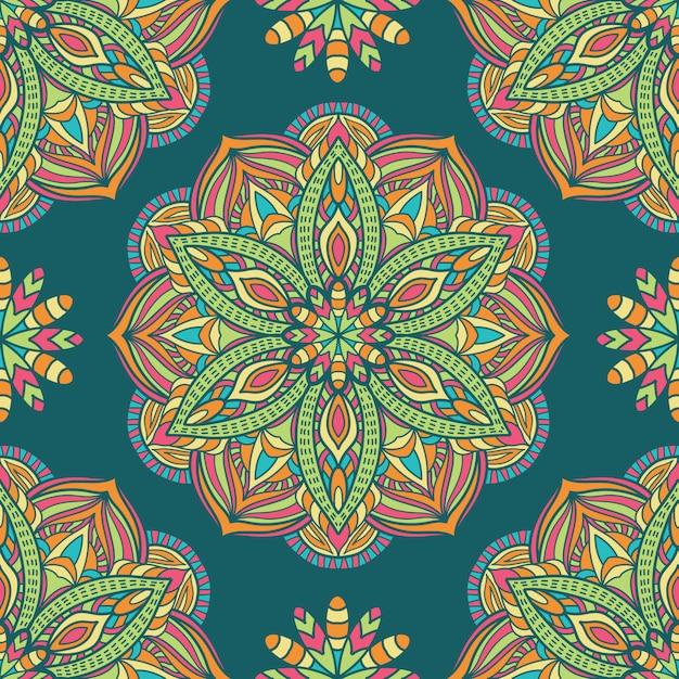 Mandala vectorontwerp voor afdrukken. tribal ornament. Premium Vector