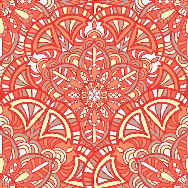 Mandala vectorontwerp voor afdrukken Premium Vector
