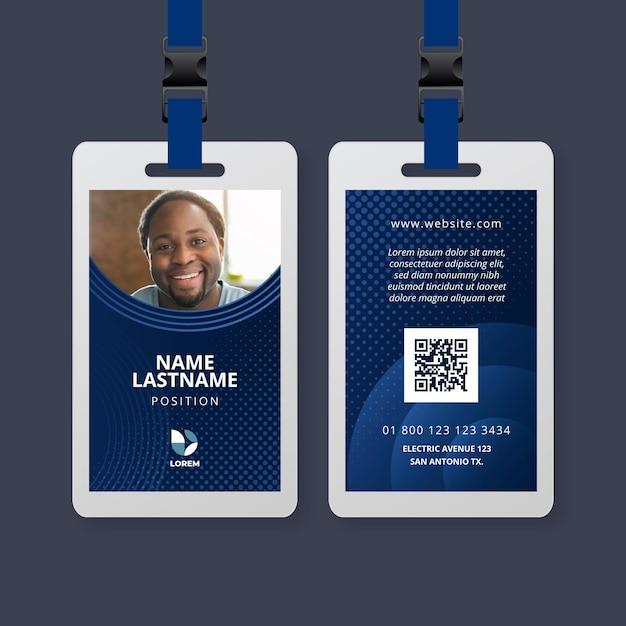 Marketing visitekaartje sjabloon Premium Vector