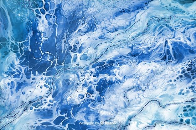 Marmeren verf textuur achtergrond Gratis Vector